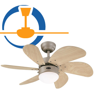 Ventilatore a Pale da Soffitto